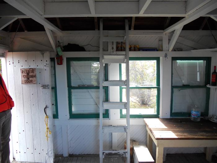 McGuire Mountain Lookout-interior