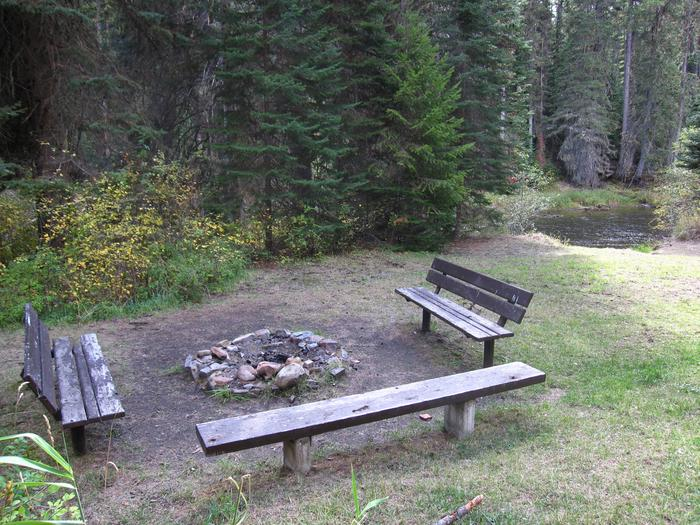 Group Picnic Area at Whitetail Campground