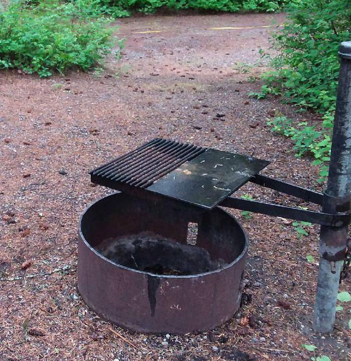 N. Dickey Site 4-fire pit