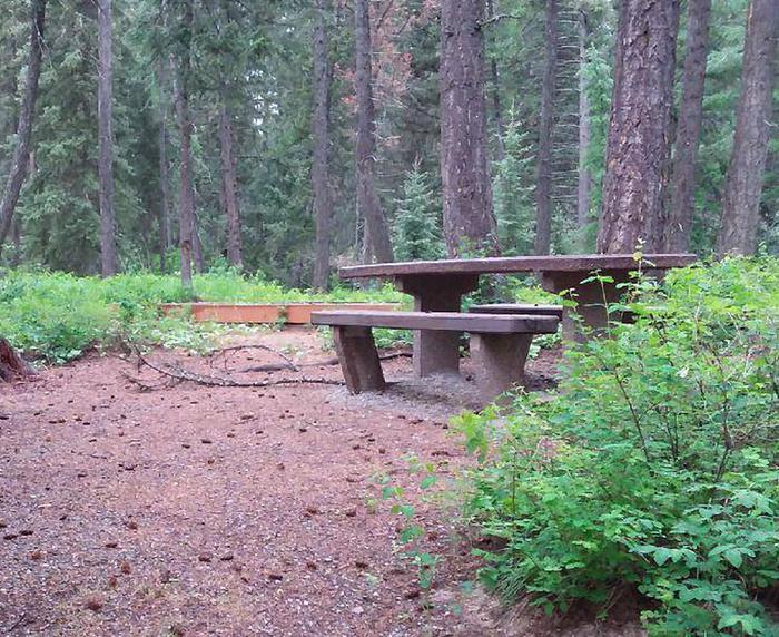 N. Dickey Site 4-table