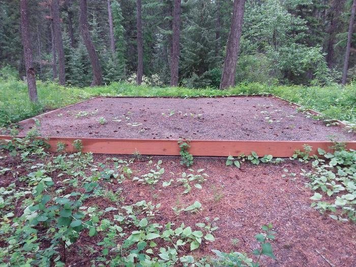 N. Dickey Site 4-tent pad