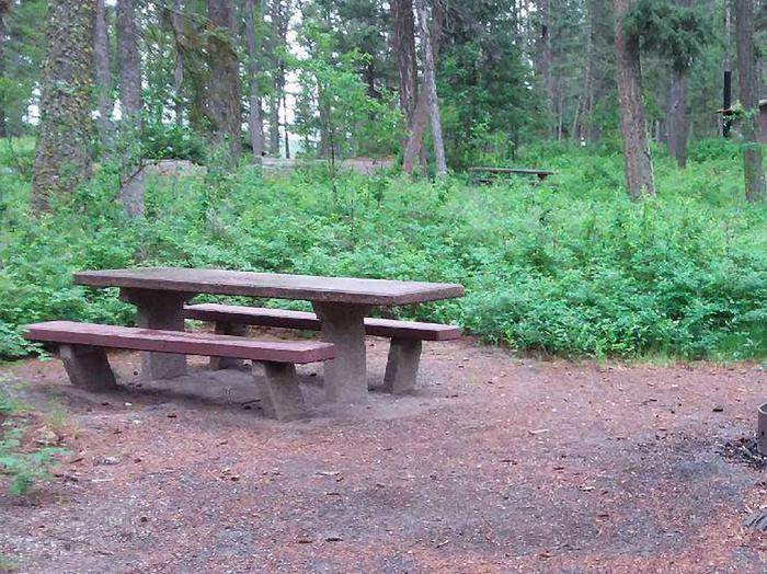 N. Dickey Lake Site 5-table