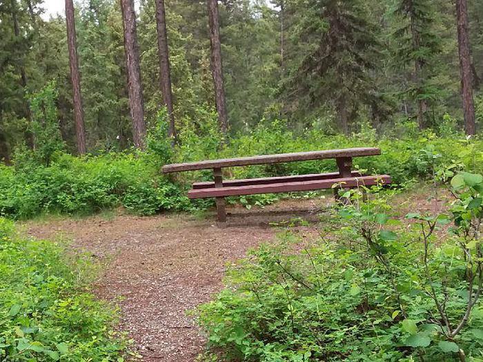 N. Dickey Lake Site 6-table