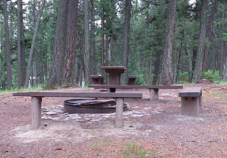 N. Dickey Lake Site 10-table
