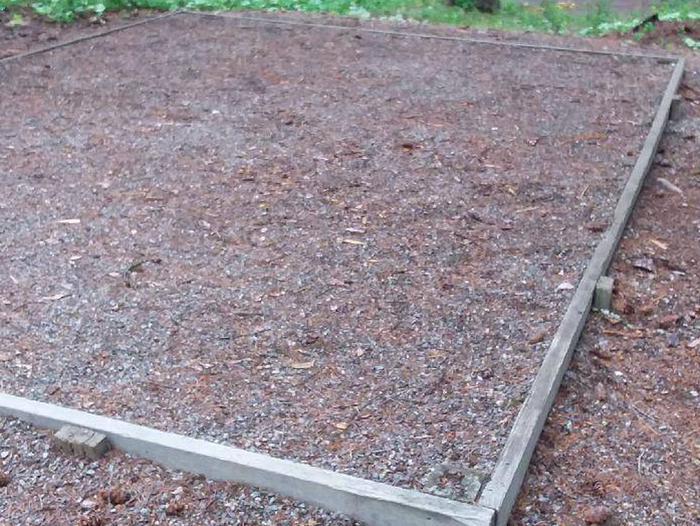 N. Dickey Lake Site 10-tent pad