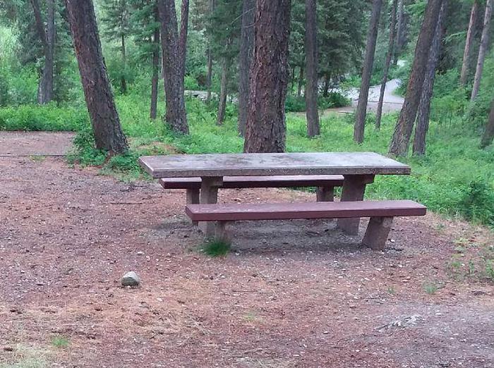 N. Dickey Site 11-table
