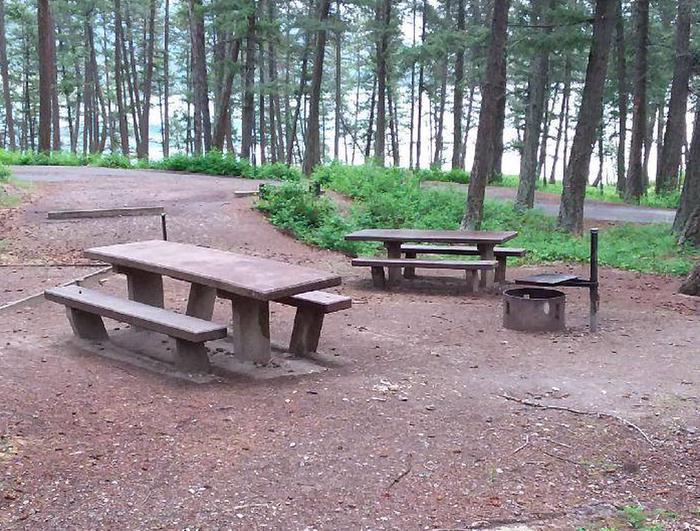 N. Dickey Lake Site 17-table