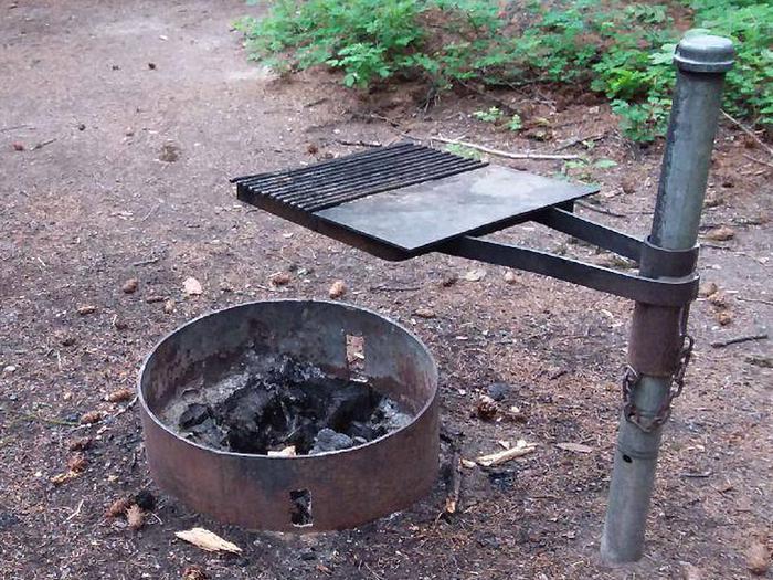 N. Dickey Lake Site 19-fire ring