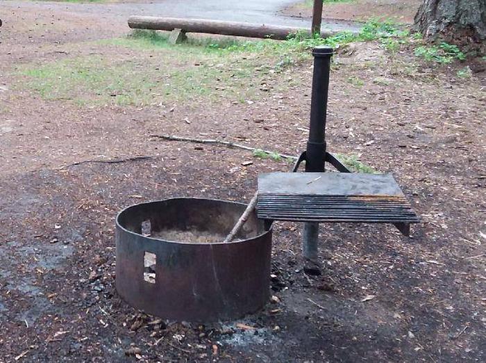 N. Dickey Lake Site 22-fire ring
