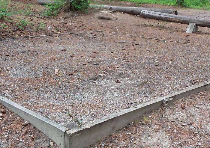 N. Dickey Lake Site 22-tent pad