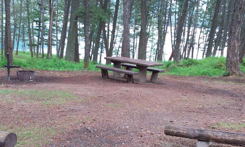 N. Dickey Lake Site 22-table