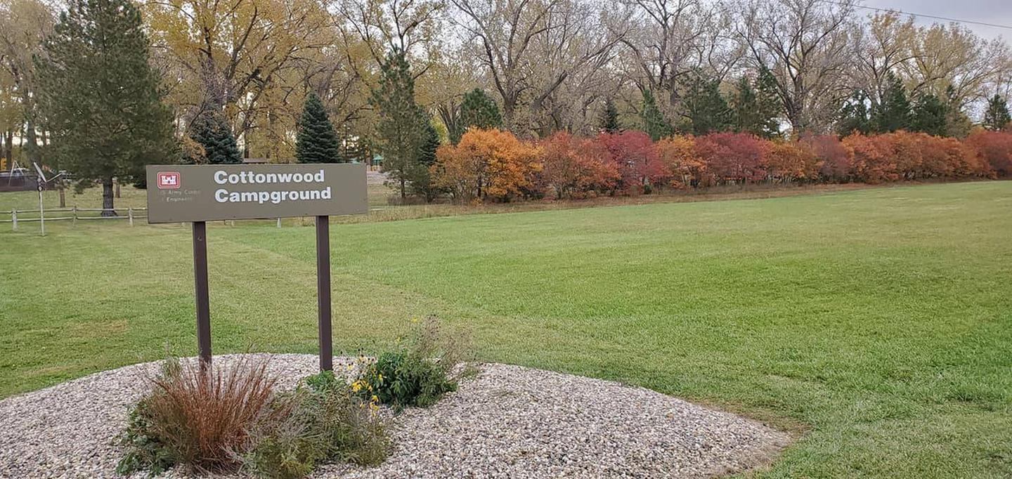 Fall colors at Cottonwood Campground
