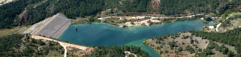 Cold Brook Lake and DamCold Brook Lake