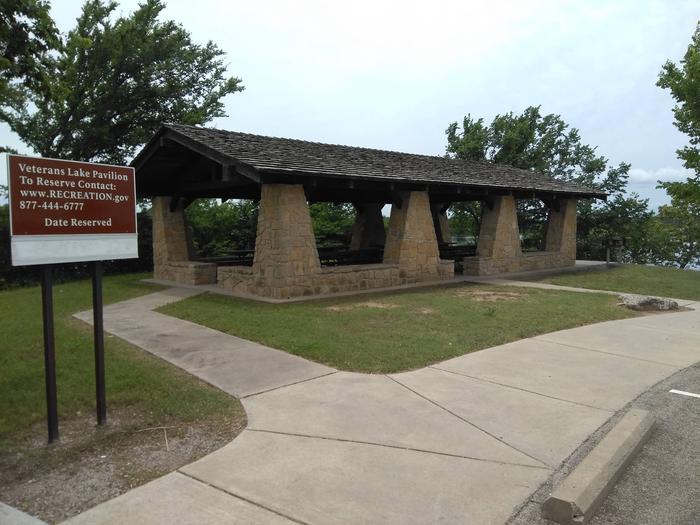 Pavillion at Veterans Lake