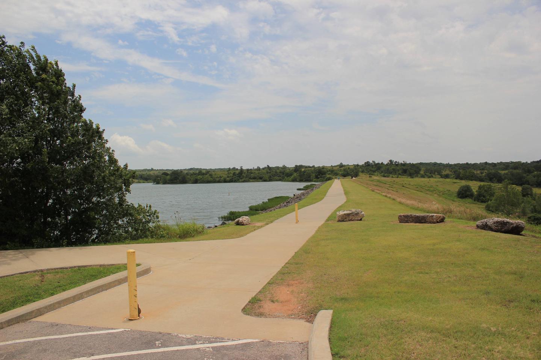 The Dam at Veterans Lake