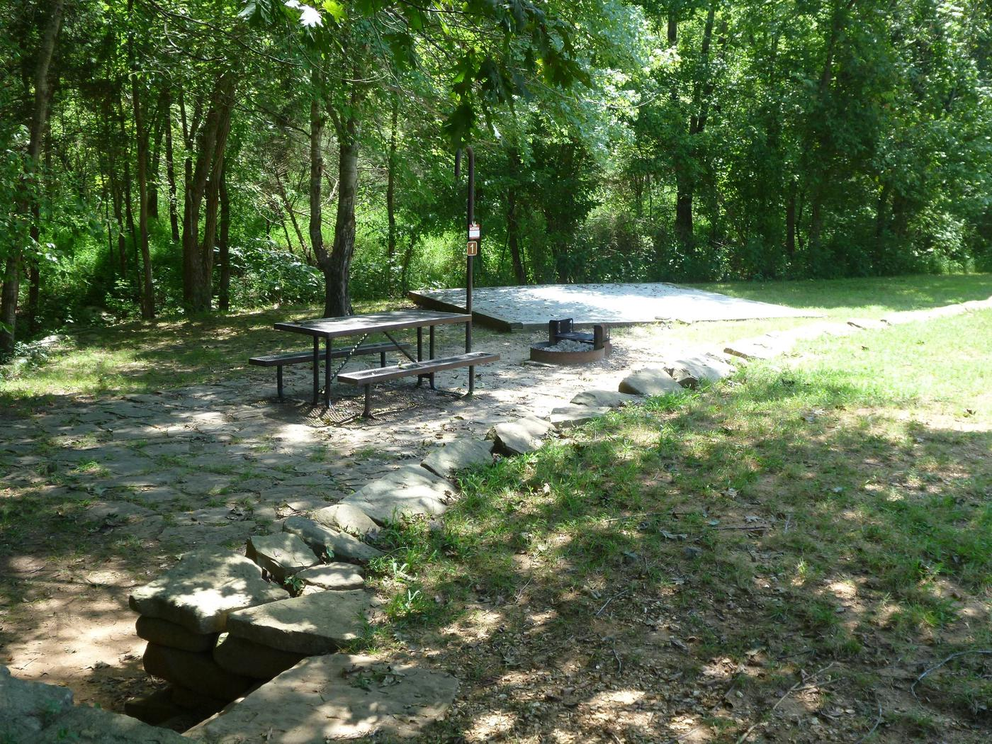 Tyler Bend Campground Host Site #2