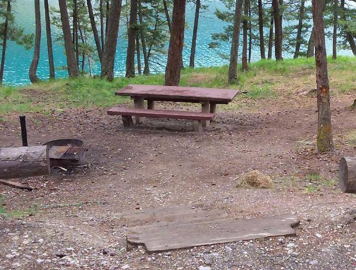 N. Dickey Site 25-table