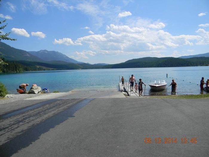 N. Dickey Lake-Boat Ramp
