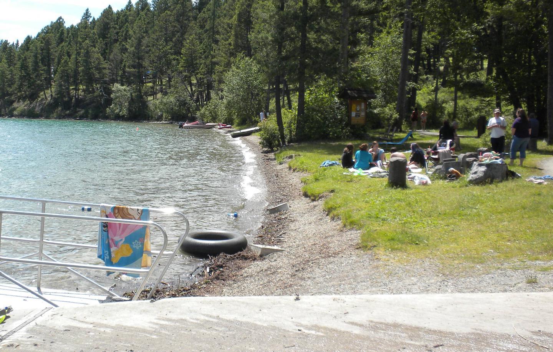 N. Dickey Lake-Beach
