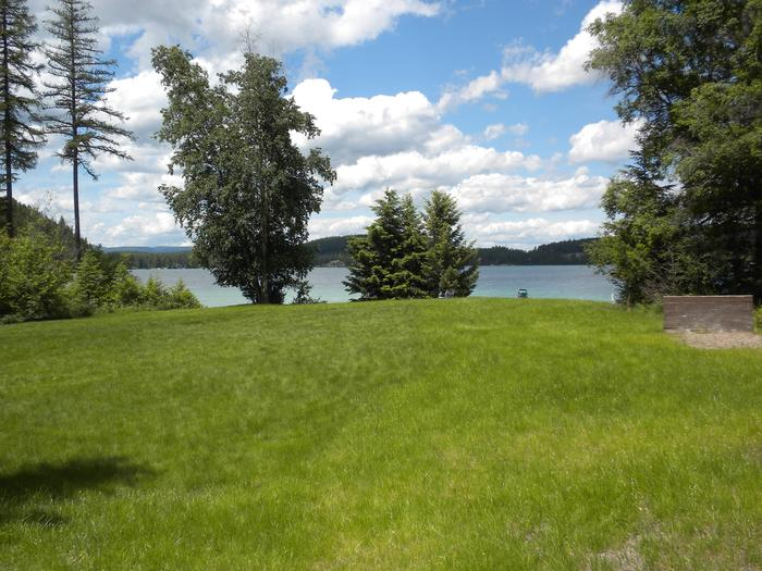 South Dickey Lake Day Use Area - Grassy area