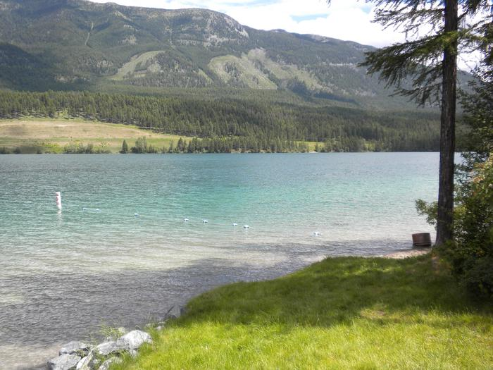 South Dickey Lake Day Use Area - Beach