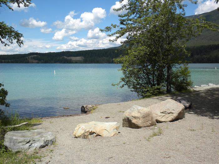 South Dickey Lake Day Use Area - Beach area
