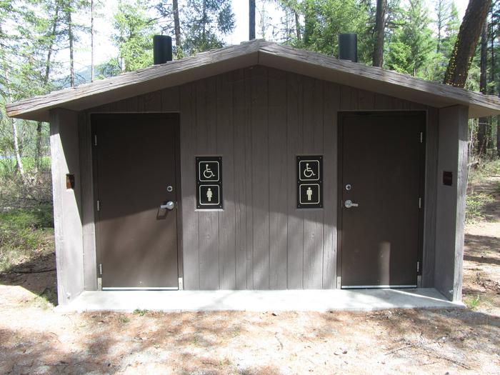South Dickey Lake Day Use Area - Vault Toilet