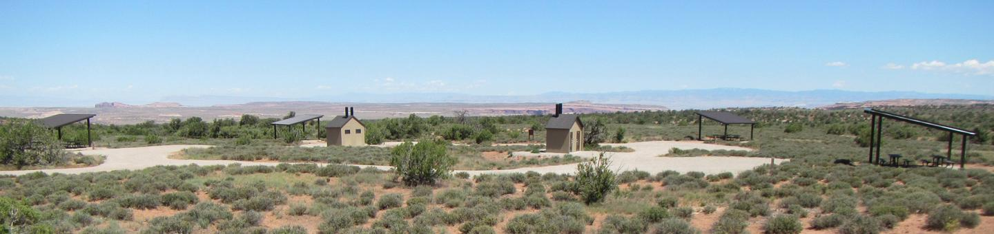 Overview of Horsethief Group Sites A-D