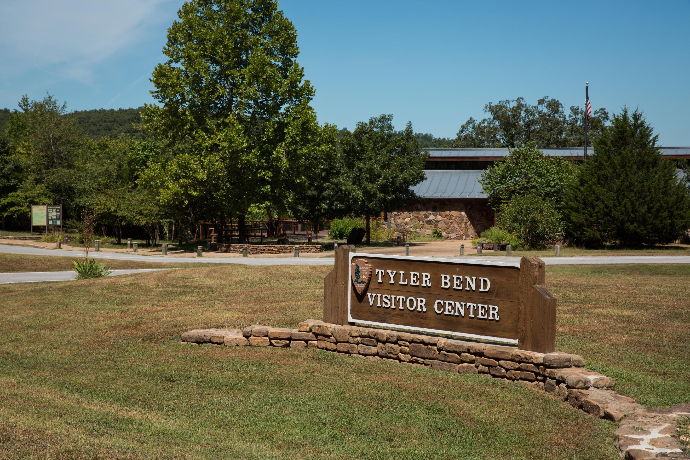 Tyler Bend Visitor Centerhe Tyler Bend Visitor Center is a great place to start planning your visit to Buffalo National River.