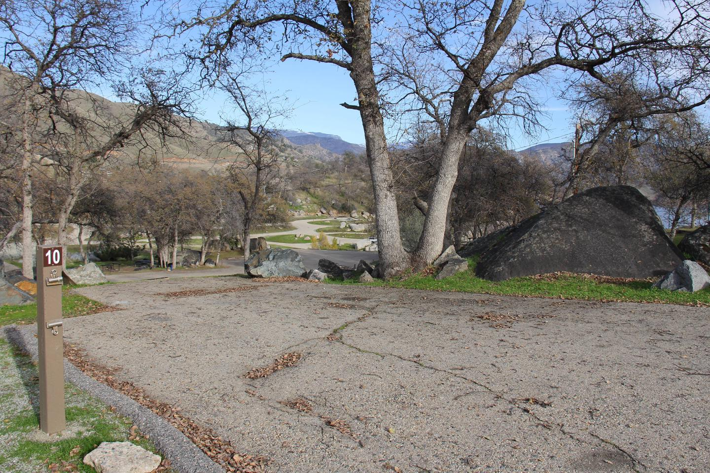 Campsite 10 ParkingSite #10 Parking