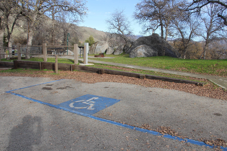Site #13 Parking