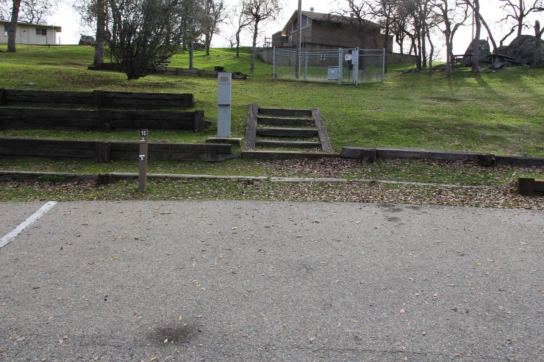 Site #16 Parking