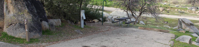 Island Park CampgroundCampsite #22 - ELECTRICAL SITE