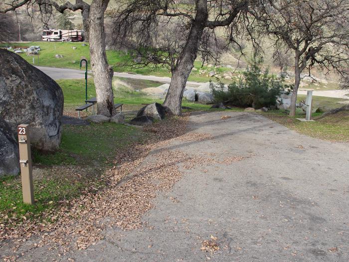 Island Park CampgroundCampsite #23 - ELECTRICAL SITE