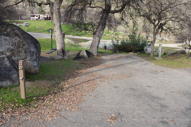 Site #23 Parking