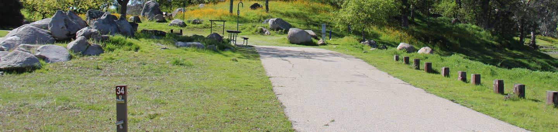 Island Park CampgroundCampsite #34 - ELECTRICAL SITE