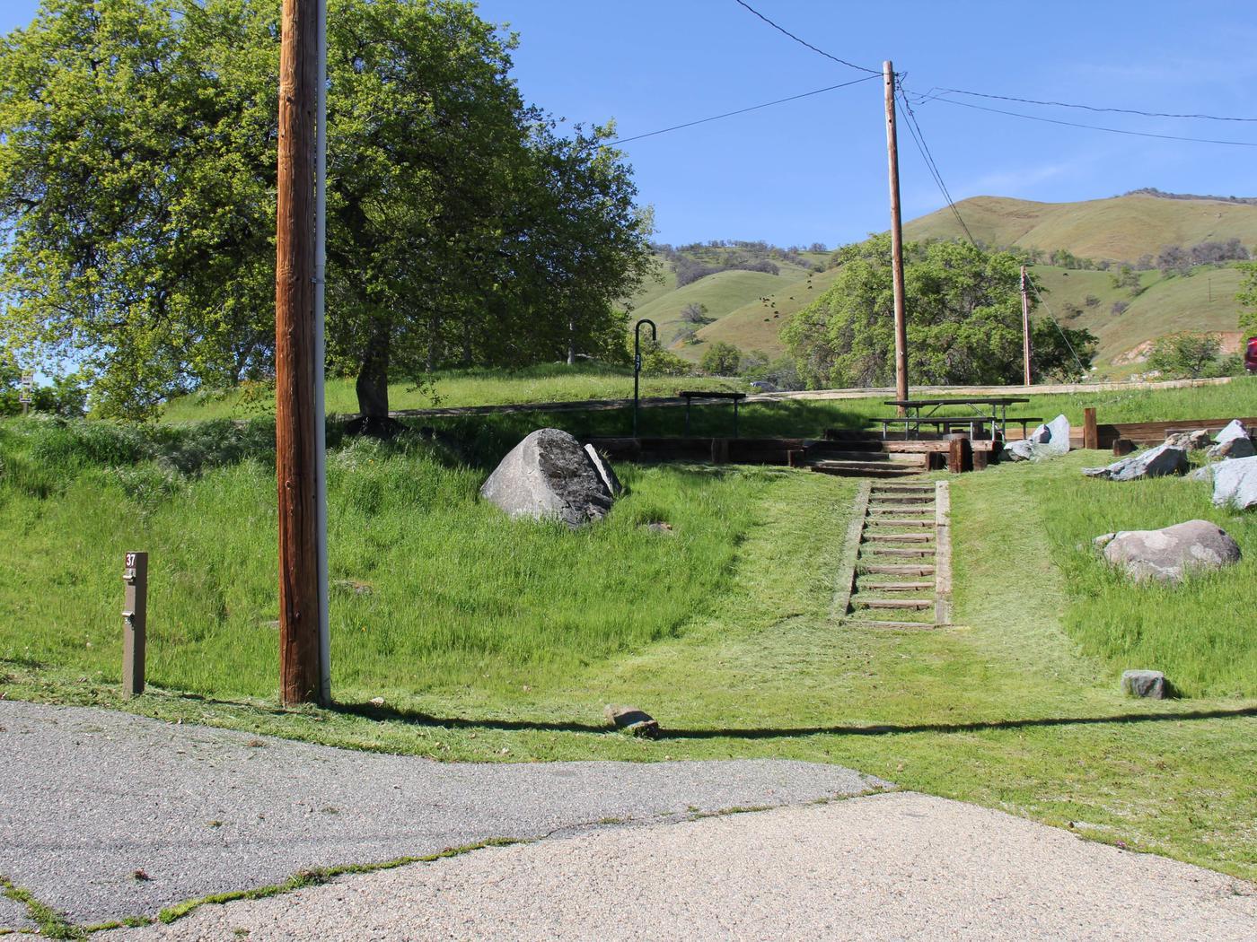 Island Park CampgroundCampsite #37 - ELECTRICAL SITE