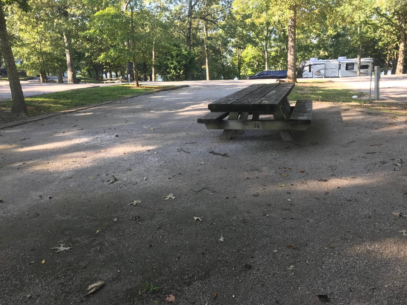 WILLOW GROVE CAMPGROUND SITE #40 TABLEWILLOW GROVE CAMPGROUND SITE #40