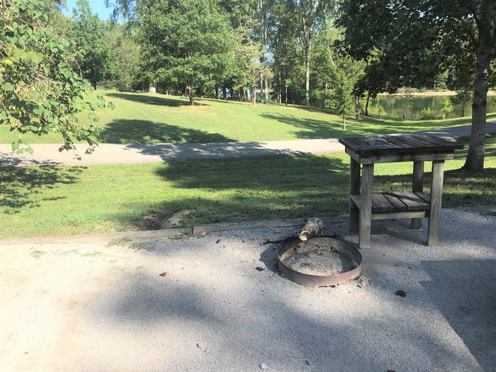WILLOW GROVE CAMPGROUND SITE #16 FIRE RINGWILLOW GROVE CAMPGROUND SITE #16