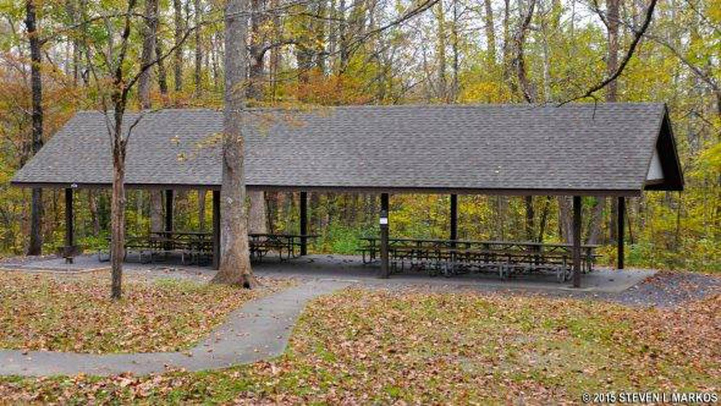 Picnic ShelterCovered picnic shelter available