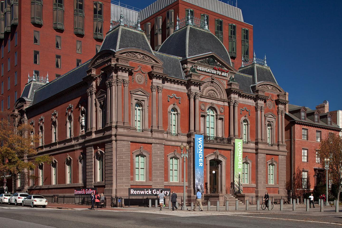 Exterior view of Renwick Gallery
