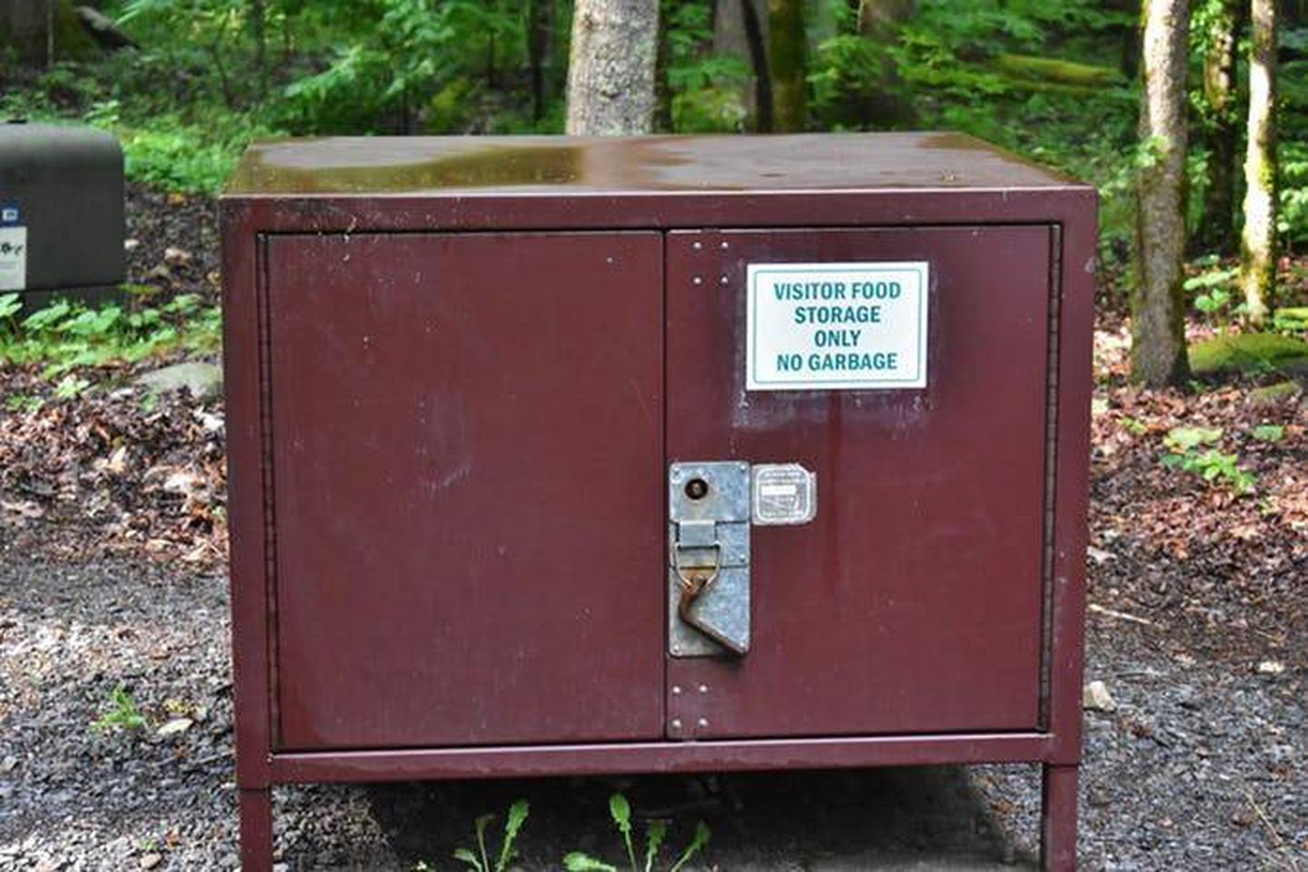 BearBox Big Creek is close to Harmon Den sanctuary so be sure to put your food in the storage box if you cannot secure it in your vehicle. This is mandatory for your and bear safety.