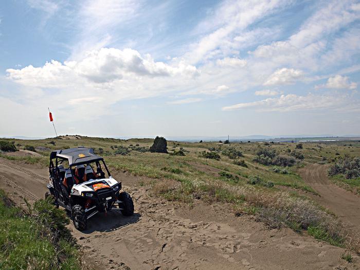 Juniper Dunes OHV Area trail scene