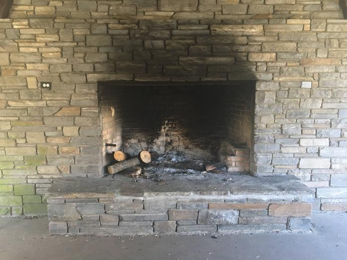 Deep Creek Picnic Pavilion Fire Place