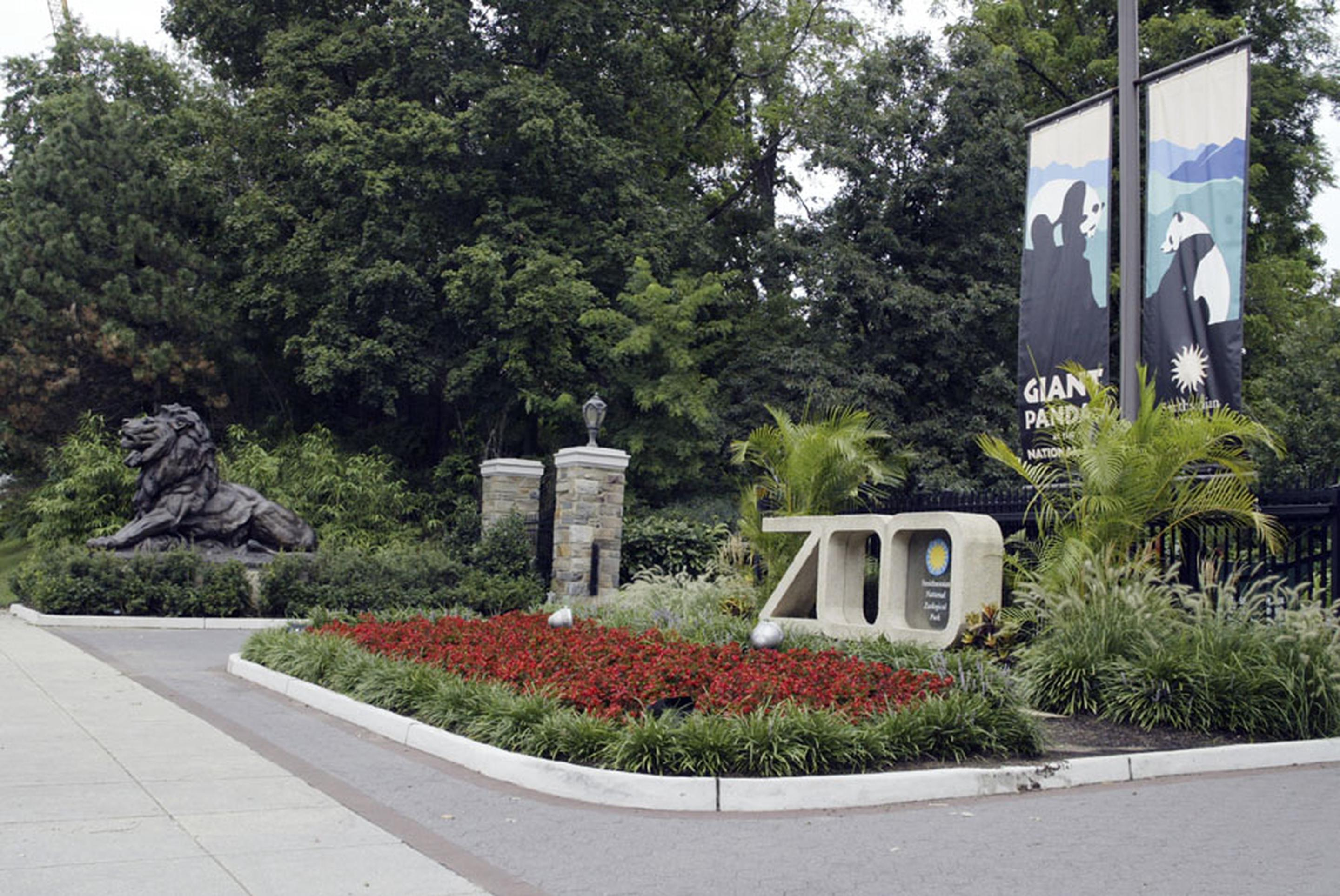 National Zoo entranceView from Connecticut Avenue entrance