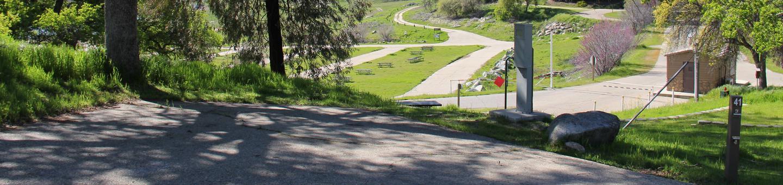Island Park CampgroundCampsite #41 - ELECTRICAL SITE