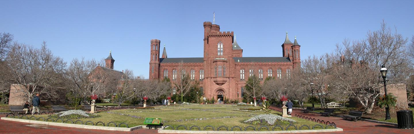 North view of castleView of the Smithsonian Castle from December 31, 2007