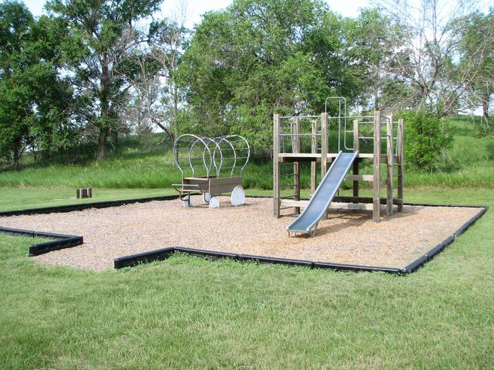 Beaver Creek Recreation Area PlaygroundA small playground is located near campsites 1-8 in the campground.