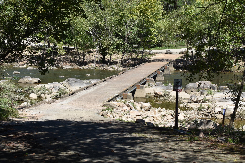 Footbridge Crossing St. Francis River