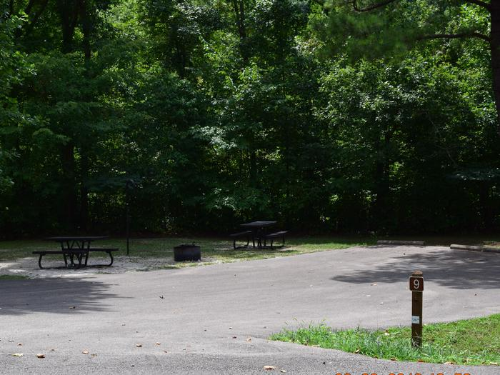 Double campsite 9